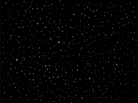 Sternen-Nacht-Himmel