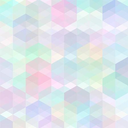 Retro motif multicolore