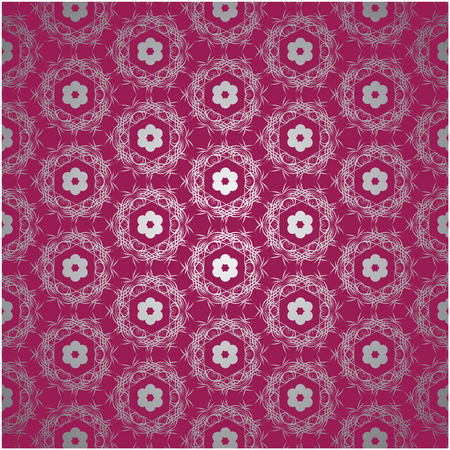 Lace red background Stock Vector - 8204196
