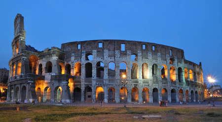 View of coliseum photo