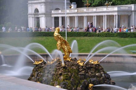 Fountain in Petergof Stock Photo - 12418392