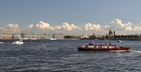 Saint petersburg, Neva river Stock Photo - 13095631
