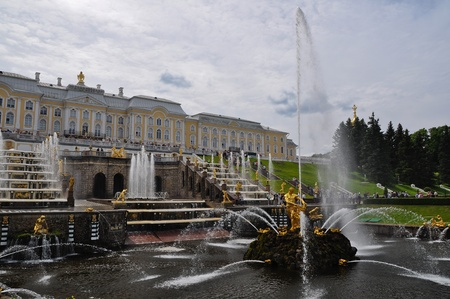 peterhof: Peterhof, Samson fountain  Editorial
