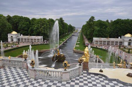 Peterhof, Samson fountain