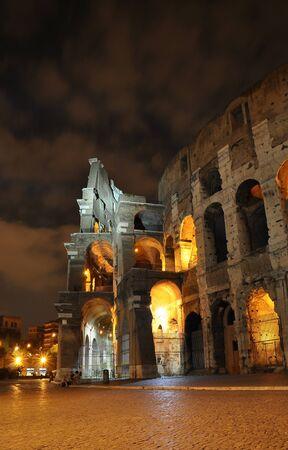 Coliseum at night, Rome, Italy Stock Photo - 13127746