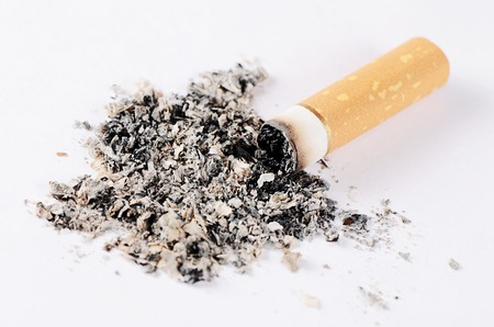 toxic substance: Close-up of Tobacco Cigarettes Background or texture Stock Photo