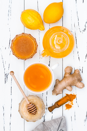 inflammatory: Hot lemon water with ginger, cayenne, turmeric and honey. Detox liver fat burnner, immune boosting, anti inflammatory healthy drink