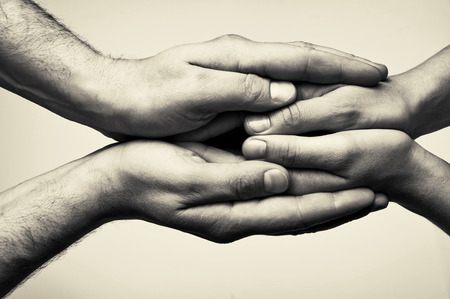 guardianship: Two hands (hands that  take care)