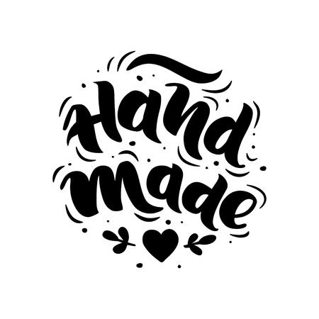 Handgemaakt. Met de hand getekende letters. Stijlvol logo voor uw product, winkel, enz. Logo