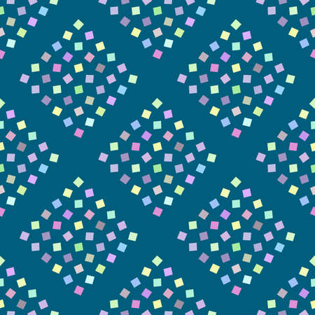 Abstract Geometric Background With Squares. Colorful Modern Template