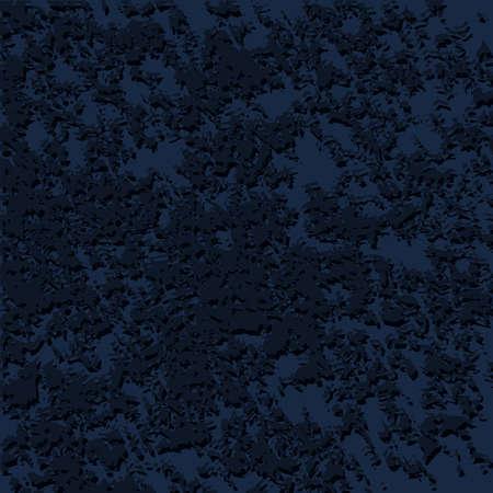 Dark Blue Background. Vector Texture Similar To Velvet Textiles Illusztráció