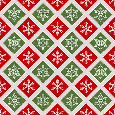 Seamless Pattern With Elements Of Winter And Christmas