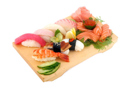 japanese cookery: Masterpieces of the Japanese cookery Stock Photo