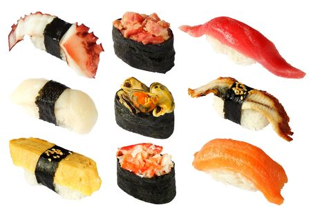 Japanese cuisine close up Stock Photo