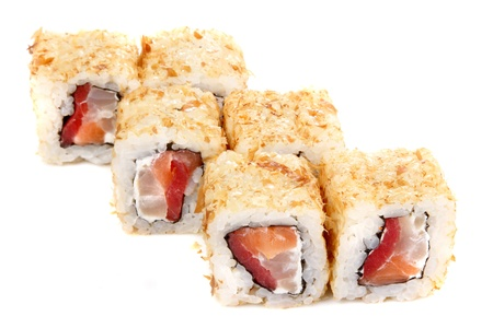 japanese cookery: Masterpieces of Japanese cookery. It is isolated on a white background.