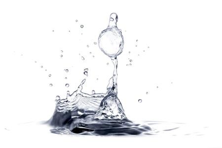 Splash on a water surface Stock Photo - 9577437
