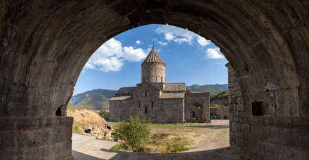tatev: View of the ancient Christian temple Tatev in Armenia