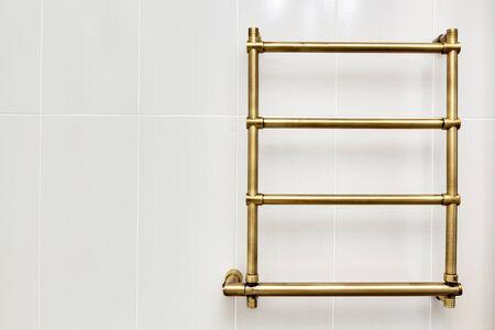 watercloset: the beautiful modern copper dryer in a bathroom