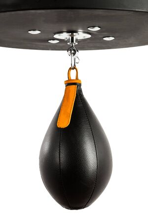Boxing pear hanging Stock Photo