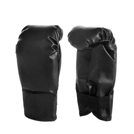Boxing black gloves