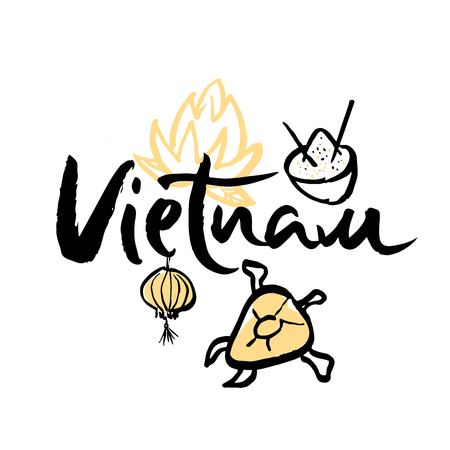 Travel to Vietnam, and iconic symbols of the country