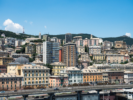 Panoramic view Genoa