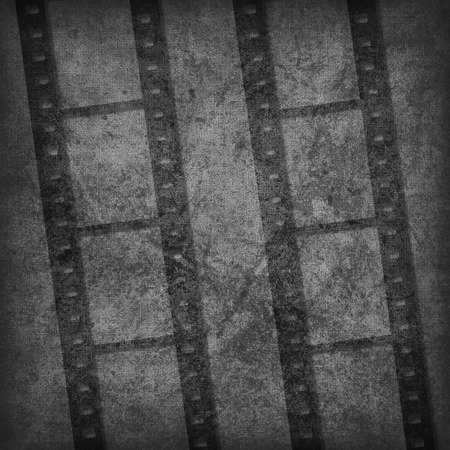 Grunge graphic abstract background with film Stock Photo - 8396086