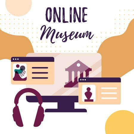 Interactive museum exhibition. Virtual Museum and art galleryTours. Online Tours. Exhibits Online.