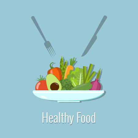Vegetable plate.