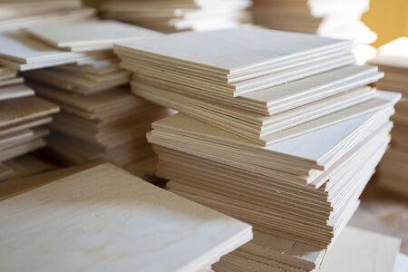 Wood plywood. Preparations for the manufacture of furniture