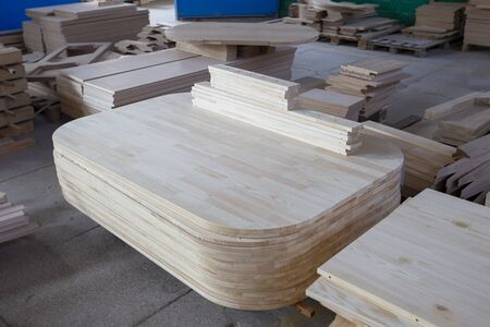 Wood processing industry. Wooden blanks for the manufacture of furniture.