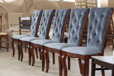 Furniture factory. Manufacture of chairs