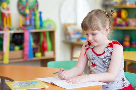 Preschooler learn to write