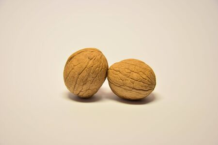 Twain walnuts together