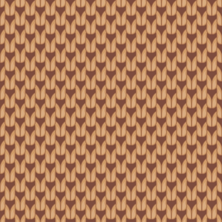 knitted texture for design Vector