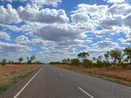 storied: Storied australian outback  Australia, Queensland  Stock Photo