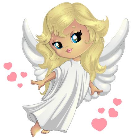 Lieve kleine engel Stockfoto