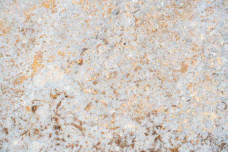 concrete aged texture. old, vintage gold, Violet background. orange with roughness and cracks.