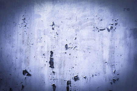 blue, purple, lilac, texture. old rusty wall backgrounds. roughness and cracks. frame, vignette