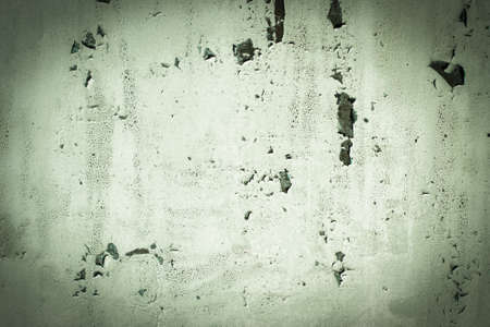 Green, celadon, texture. old rusty wall backgrounds. roughness and cracks. frame, vignette
