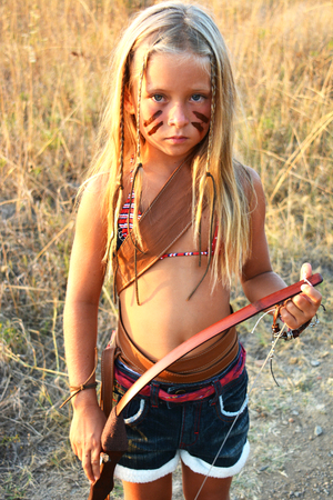 The child of an Indian