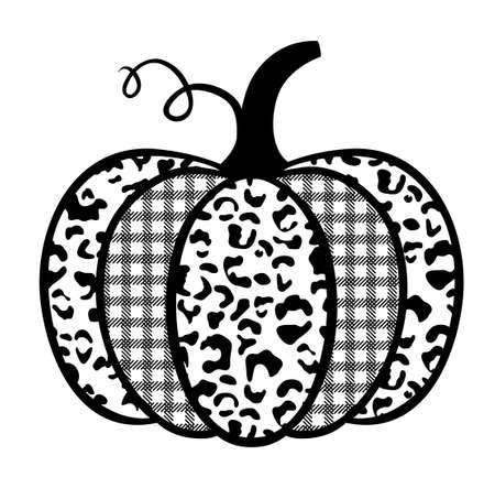 Pumpkin with prints