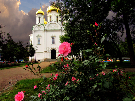 Catherines Cathedral Tsarskoe Selo, September 9, 2017year