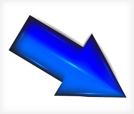 Plastic. Blue arrows.