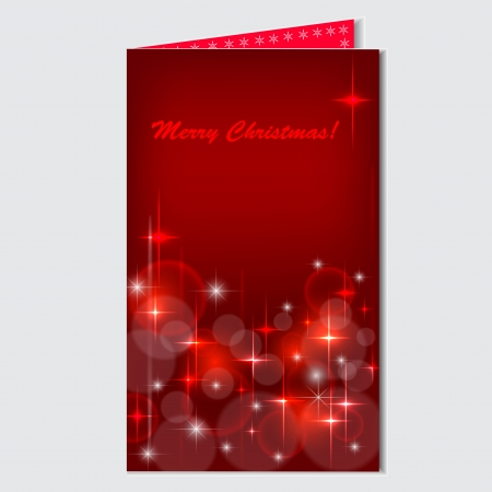 folding holiday cards with the inscription. Vector Eps 10