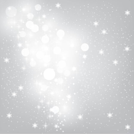 Gray glow with snowflakes.Vector illustration. Eps10. Illustration