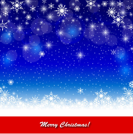 Merry christmas lettering Greeting Card. eps 10