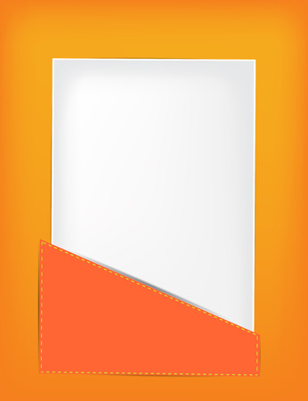 Paper in the pocket Vector