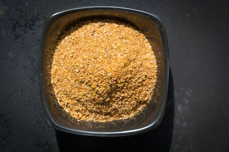 seasonings: Spices and seasonings. The ground mixture of peppers. Stock Photo