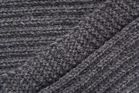 snood: Texture of knitted handmade for wallpaper and an abstract background Stock Photo